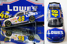 JIMMIE JOHNSON 2002 ROOKIE LOWES RARE 1 24 TEAM CALIBER OWNERS