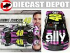 JIMMIE JOHNSON 2020 ALLY FINANCIAL 1 24 ACTION
