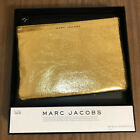 Marc Jacobs TARGET Gold Metallic Leather Pouch NEW IN BOX