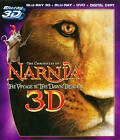 Chronicles of Narnia Voyage of the Dawn Treader 4 Disc 3D+Blu ray+DVD+Digital
