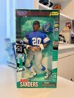 """BARRY SANDERS Action Figure - Detroit Lions - 12"""" Starting Lineup NEW IN BOX"""