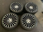 20 ASTON MARTIN DB9 VANTAGE OEM ORIGINAL WHEELS RIMS BRIDGESTONE TIRES 95TREAD