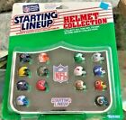 RARE MUCH SOUGHT AFTER 1989 NFC Offensive Starting Lineup Helmet Collection NEW