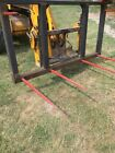 jcb telehandler bale spike 2round bale 2 large bale 42 small bale tractor