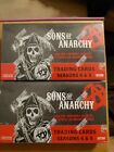Cryptozoic Sons of Anarchy sealed 2 box card Lot season 4 & 5 (1 auto 1 costume)