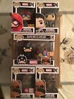 Funko Pop Marvel Inhumans Set of 5 Unopened w HotTopic & Convention Exclusives