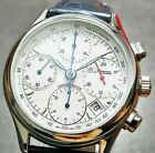 Minerva A241 Chronograph /Two Time function/ Automatic Men's Wrist Watch