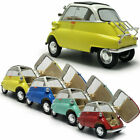 118 Scale Vintage 1955 BMW Isetta Model Car Diecast Vehicle Collection Gift