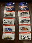 Hot Wheels Cop Rods 2008 09 Lot of 8 Die Cast Cars Metal Body Authentic Deco