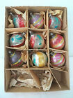 Old Blown Glass Ornaments Germany