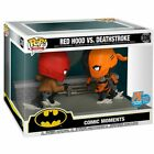 SDCC 2020 FUNKO POP COMIC MOMENT DC RED HOOD VS DEATHSTROKE PX EXCLUSIVE FIGURE