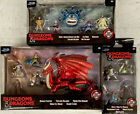 Jada Toys Dungeons  Dragons Die Cast lot of 3 sets Figures Dragon New 2020
