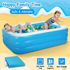 Large Size Inflatable Swimming Pool Play Paddling Pool Outdoor Garden Kids Pools