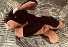 TY BEANIE BABY DOBY DOG DOBERMAN, NEW, 5TH GEN 1996, PVC PELLETS, FABULOUS,24YRS