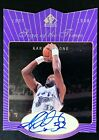 KARL MALONE 1997-98 SP AUTHENTIC SIGN OF THE TIMES AUTOGRAPH AUTO #KM