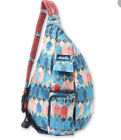 Nwt Kavu Sling Rope Bag Stained Glass