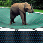 Rectangle Loop Loc Pool Safety Cover 16 x 36 Blue Mesh LLM1205