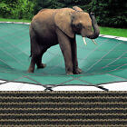 Rectangle Loop Loc Pool Safety Cover 16 x 36 Tan Mesh LLM1221