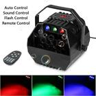 Automatic Bubble Machine Professional RGB LED Remote Control DJ Party Wedding BS