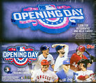 2017 Topps Opening Day Baseball Brand New Sealed Hobby Box - Judge Bregman RC