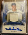 2005 Upper Deck Hall of Fame DUKE SNIDER Hall Worthy Autograph Relic #'d 15 15