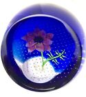 Caithness Glass October Anemone paperweight from Floral Year Collection SALE