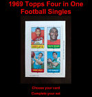 1969 Topps Football Cards 3