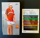 Rafael Nadal Tennis Cards, Rookie Cards and Autographed Memorabilia Guide 13