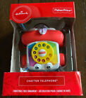 Hallmark Fisher Price Chatter Telephone Toy Christmas Tree Ornament New 2019