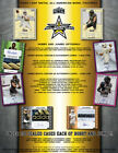 2020 LEAF METAL ALL AMERICAN BOWL FOOTBALL HOBBY BOX 8 AUTOS FROM A SEALED CASE