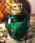 Cool Working Green Glass Murano Millefiori Glass Lighter Excellent Vintage
