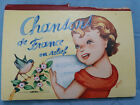 SONGS FROM FRANCE IN RELIEF Chansons de France en relief Vintage Pop Up Book