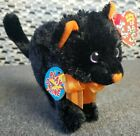 TY Scaredy The Black Cat 2.0 Beanie Baby Unused Code 2007 Multiple Available