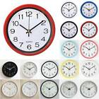 Modern Large Luminous Quartz Wall Clock Non ticking Glow In The Dark Home Decor