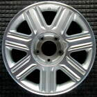 Lincoln Blackwood Machined w Silver Pockets 18 inch OEM Wheel 2002 to 2003