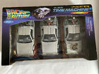 Back To The Future Welly 124 Diecast Metal Delorean Time Machine Trilogy Pack