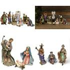 Newman House Studio Nativity Set Includes 8 Figurines Holiday Dcor Indoor N
