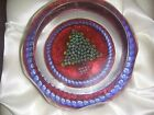 Whitefriars Rare Limited Edition Christmas Tree Art Glass Paperweight boxed