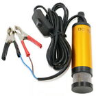 12 24V DC Mini Submersible Water Pump Portable Electric Fuel Pump for Diesel Oil