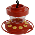 First Nature 3091 Flower Hummingbird Nectar Feeder with Easy Cleaning 16 oz