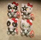 Ty Hello Kitty Kiss Beanies Complete Set of 4 MWMTs