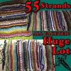 HUGE LOT 55 Strands BEAUTIFUL ALL FACETED GLASS BEADS Wholesale Bulk L89