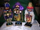 SET OF 3 NATIVITY KINGS Vintage Premier Nutcracker Wiseman Collection 15 Tall