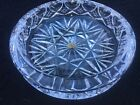 Whitefriars Heavy Cut Glass Crystal cigar ashtray large stunning bowl with label