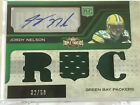 Jordy Nelson 2008 Triple Threads Rookie Card Autograph #32 50 (Packers)