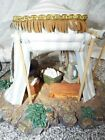 FONTANINI Nativity Village 50153 Kings BLUE Tent for 5 Villages with Box 1996