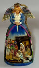 Jim Shore Angel with Nativity Scene 2006 Christmas Ornament 4005767