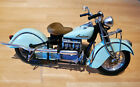 Tootsie Toy 1942 442 Indian Motorcycle 110 Scale Die cast Replica No Box