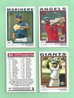 2004 Topps Traded & Rookies Baseball Cards 4