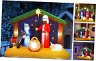 65FT Christmas Inflatable Nativity Scene Blow Up LED Light Christmas Inflatab